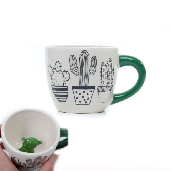Cactus Mug by Succulent City